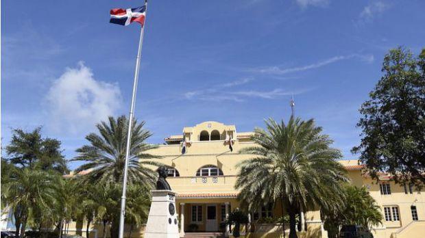 Sede de la Cancillería dominicana.