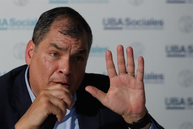 Inscriben formalmente a Rafael Correa como aspirante a la Vicepresidencia de Ecuador