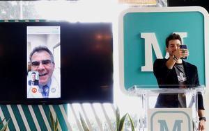 Fotografía cedida este martes, por la plataforma Medicato, que muestra la presentación de una plataforma de videoconsultas médicas, en Ciudad de México (México).