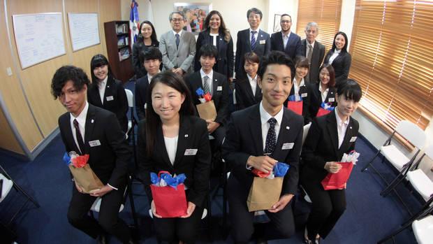 Gobierno recibe estudiantes japoneses para participar en intercambio cultural