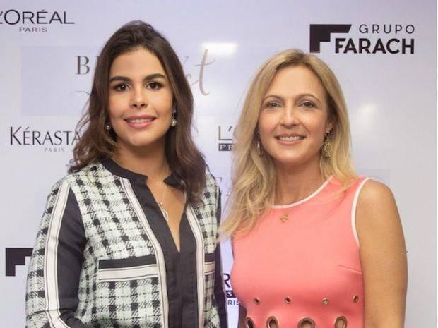 Melissa Bisono y Carmen de Farach.