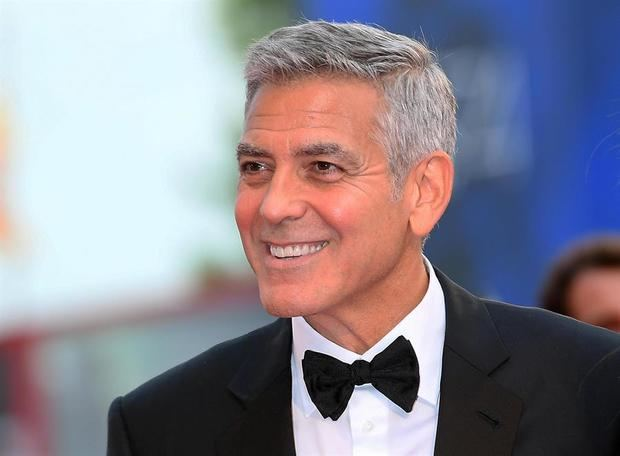Actor y director de cine George Clooney.