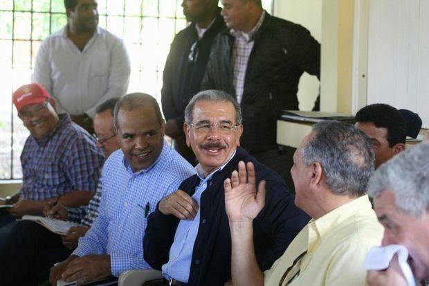Medina promete más bienestar para ganaderos de Dajabón
