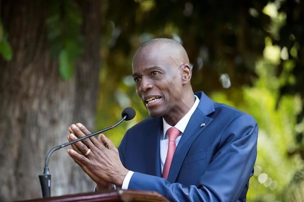 En la imagen, el presidente haitiano, Jovenel Moise.