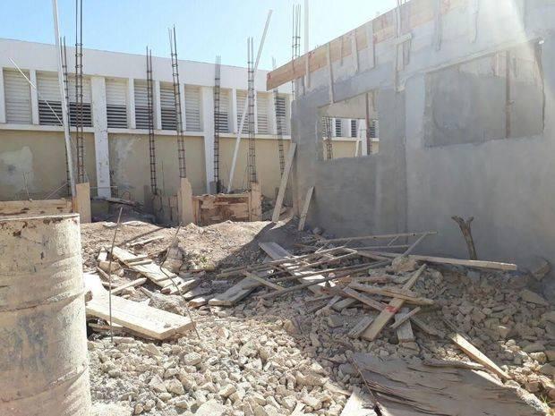 Abandono notable en el Hospital Municipal de Cabral.