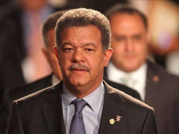 Leonel Fernández, actual presidente del Partido de la Liberación Dominicana.