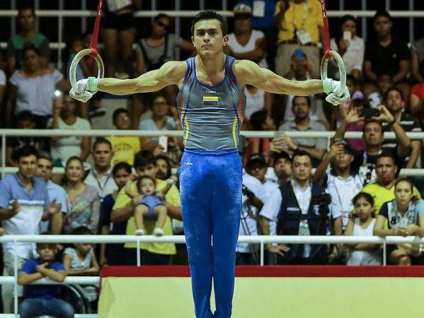 Colombia, Venezuela y República Dominicana ganaron este lunes las medallas de oro en la gimnasia artística de los XVIII Juegos Bolivarianos.
