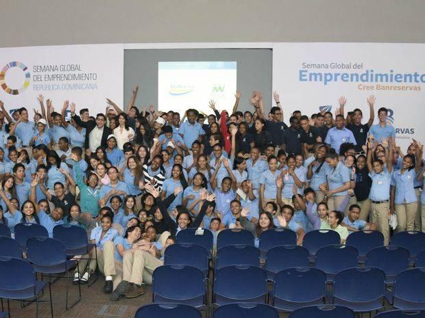 El Banco de Reservas presentó a más de 1,500 estudiantes de 28 instituciones educativas.