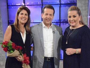 Isabel León, Ito Bisono y Jatnna Tavares.