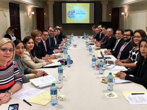 Mesa de Caribe donde se presentaron tres iniciativas para los próximos meses.