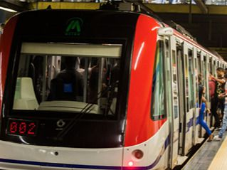 Metro de Santo Domingo.
