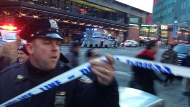 Explosión en Times Square: un sospechoso detenido