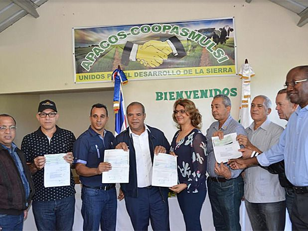 FEDA impulsa agropecuaria en La Sierra de Santiago