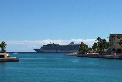 Calculan que 1,5 millones de visitantes de cruceros llegaron a República Dominicana