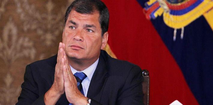 Correa vuelve a Ecuador para promover el