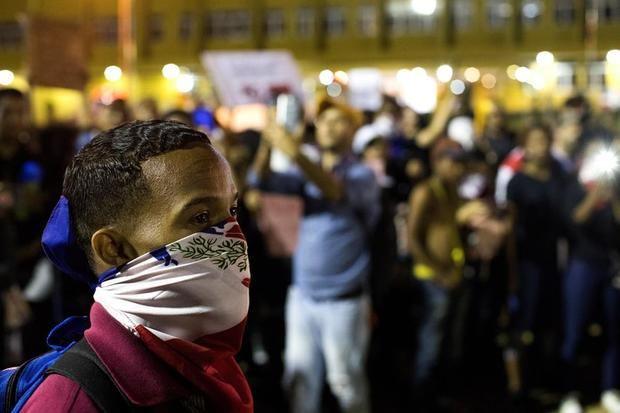 Las protestas ante el órgano electoral dominicano llegan al octavo día