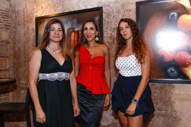 Luisa Feliz, Lorena Gutiérrez y Giulia Barbero.