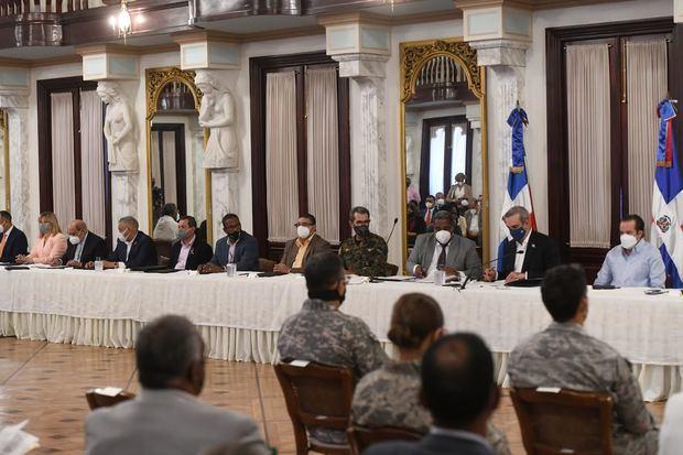 El presidente Luis Abinader encabezó el acto.