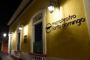 Microteatro Santo Domingo, en la calle José Reyes No. 149, Ciudad Colonial, en el Distrito Nacional.