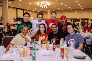 3-Ubaldo Dedios, Edwin Rodríguez, Carlos Butrón, Gilse Echavarría, Guillermo Encarnación, Lorena Gutiérrez, Erick Sánchez y Erick Mónico.