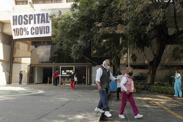 México acumula 263.140 muertes y 3.428.384 de contagios por coronavirus