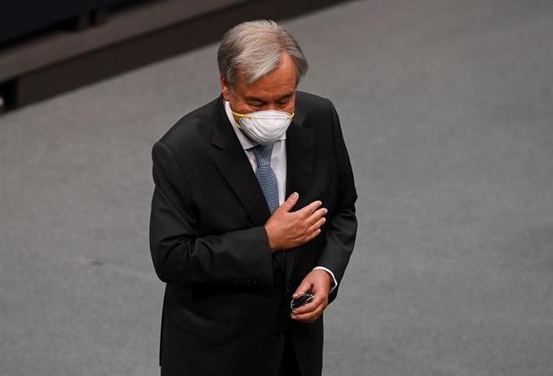 Guterres pide usar la pandemia para construir un mundo más justo y saludable