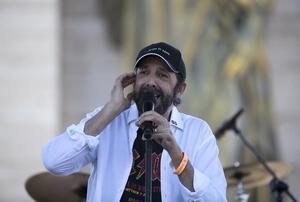 El cantante dominicano Juan Luis Guerra.