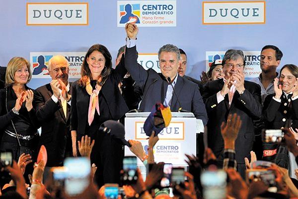 El uribista Iván Duque gana la Presidencia de Colombia con desafíos en la  paz | DiarioHispaniola l Un digital a tu alcance