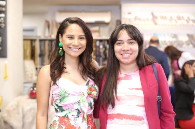 Lisaura Lara y Rosa Mariñez.