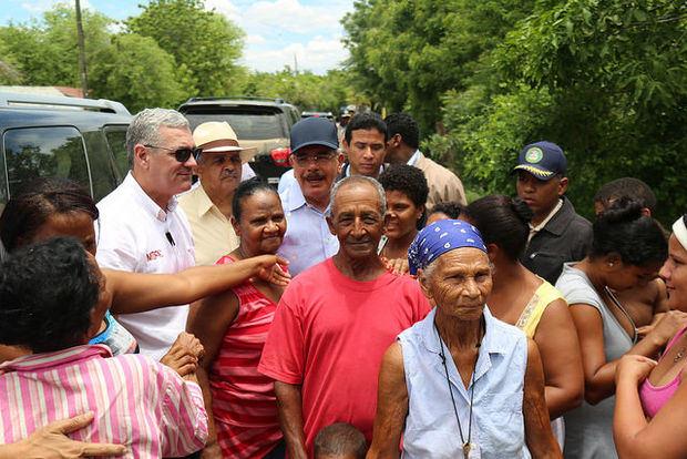 Danilo realiza recorrido por la frontera con Haití e instruye soluciones para comunidades