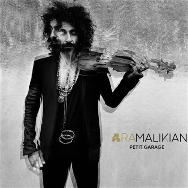 Imagen del álbum de Ara Malikian, facilitada por la oficina de comunicación Ángel Galán.