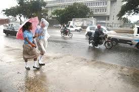 Lluvias en las tardes para este comienzo de semana