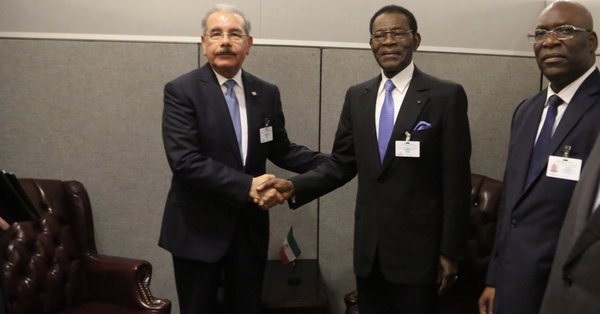 Danilo Medina se reúne con homólogos de Guinea Ecuatorial y Honduras