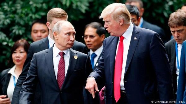 Putin y Trump realizan cumbre bilateral en Helsinki