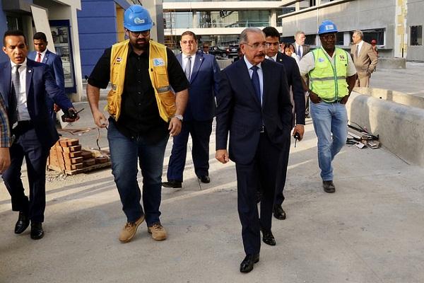 Danilo Medina realizó Visita Sorpresa de seguimiento a la Ciudad Sanitaria Luis Eduardo Aybar