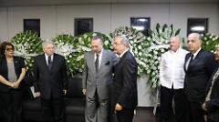 Presidente Medina  manifestó su pésame a Eduardo Selman.