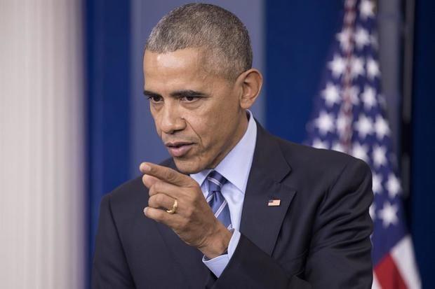 En la imagen el expresidente estadounidense Barack Obama.