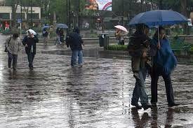 Fin de semana de lluvias y ráfagas de viento