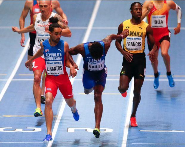 Luguelín, Yancarlos y Mariely en apertura atletismo militar
