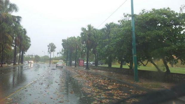 El COE coloca cuatro provincias en alerta verde por lluvias