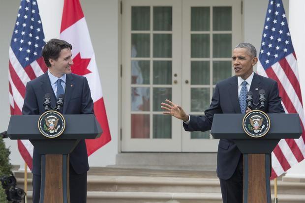 Obama respalda a Trudeau a cuatro días de los comicios en Canadá