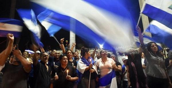 Protesta en Nicaragua