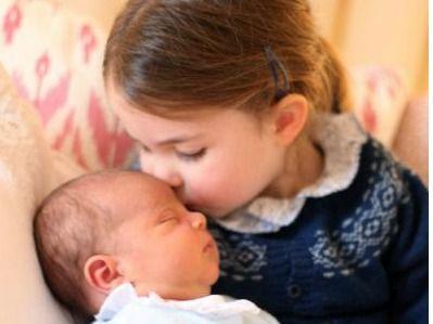 La princesa Carlota celebra como hermana mayor su tercer cumpleaños