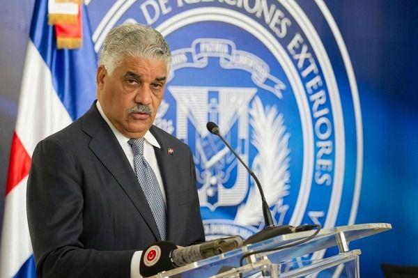 Canciller dominicano realizará visita oficial a Brasil y Uruguay