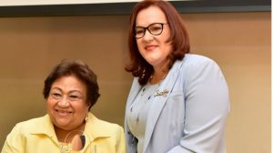 Martha Olga García, la primera en dirigir el organismo que rige las políticas públicas de género.