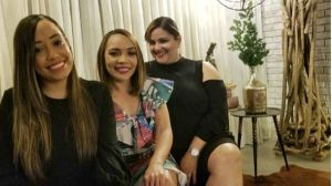 Evelyn Geraldo, Greysi Ramírez y Noelia Rodríguez
