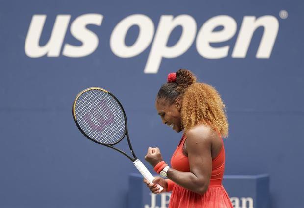 Serena Williams avanza a las semifinales del Abierto de EE.UU.