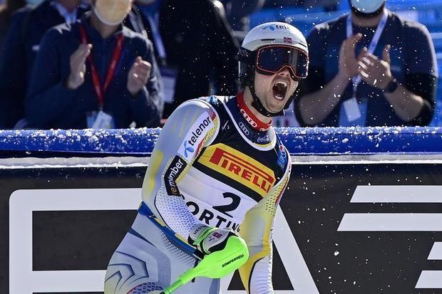 El noruego Foss-Solevaag, nuevo campeón del mundo de eslalon
