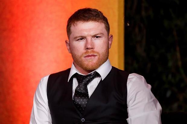 El boxeador mexicano Saúl 'Canelo' Álvarez.