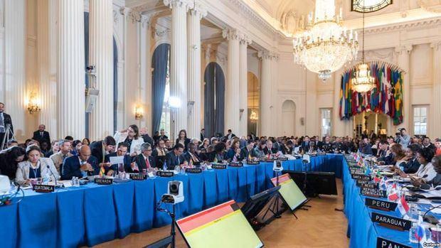 OEA firma resolución en apoyo al pueblo de Nicaragua